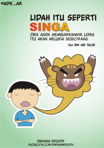 lidah itu singa