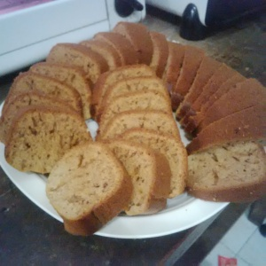 Banana Bread Slices