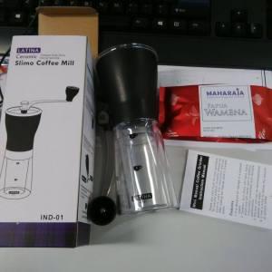 Latina slimo coffee grinder